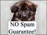 NO spam guarantee!