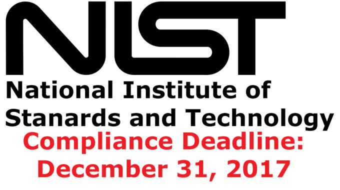 NIST Compliance Deadline