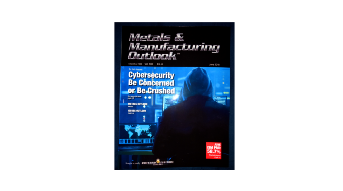 Stronghold Cyber Security CEO Authors Cover Story On NIST 800-171 For Metals & Manufacturing Outlook Magazine