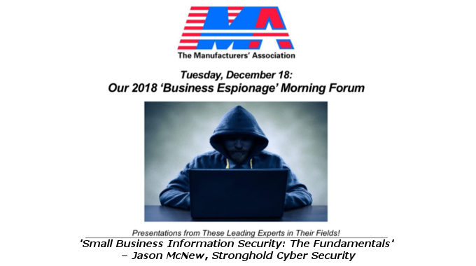 Manufacturers' Association Small Business Information Security