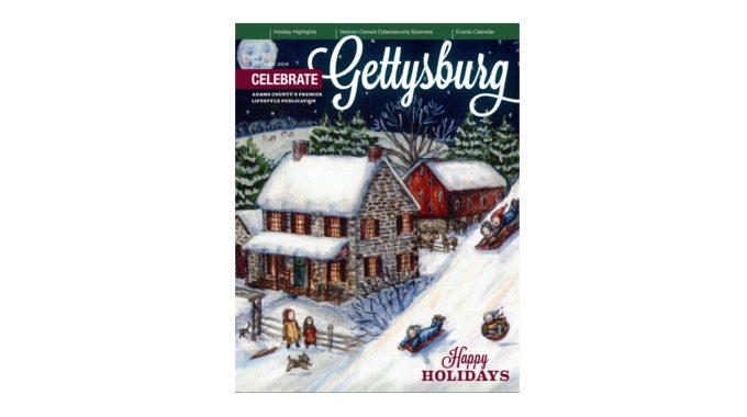 Stronghold Cyber Security Featured In November/December 2018 Celebrate Gettysburg Magazine