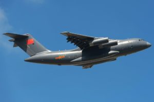 China's Y-20 aircraft